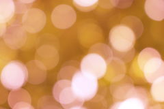 Светлая предпосылка золота Стоковое Изображение