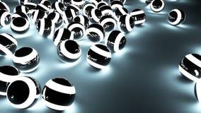 Светлая предпосылка шариков Стоковые Фото