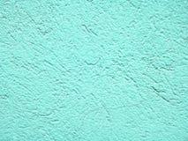 Светлая текстура стены аквамарина для предпосылки Стоковые Фото