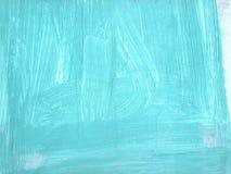Светлая текстура стены аквамарина для предпосылки Стоковые Фотографии RF