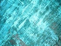 Светлая текстура стены аквамарина для предпосылки Стоковая Фотография RF