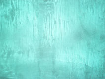 Светлая текстура стены Teal для предпосылки Стоковые Фотографии RF