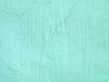 Светлая текстура стены Teal для предпосылки Стоковая Фотография RF