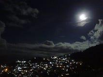 светлая луна Стоковая Фотография