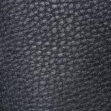 Светлая черная кожа, с диаграммами скачками формы и вен Кожаная текстура Стоковые Фотографии RF