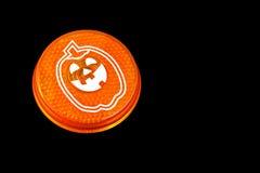 Свет безопасности рефлектора Hallowe'en стоковая фотография rf