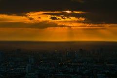 Свет бога вечера Стоковое фото RF