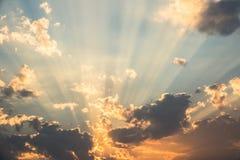 Свет бога Стоковые Изображения RF