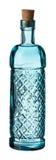 Свет - бутылка синего стекла Стоковые Фото