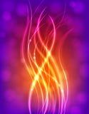 Свет-Вверх садит Мульти-цвет на мель Стоковые Изображения