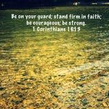 Свет веры Стоковые Изображения RF
