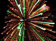 свет взрыва Стоковые Фотографии RF