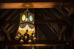 Свет внутри виска зуба в Канди, Шри-Ланке Стоковые Фото