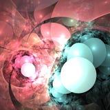 свет воздушных шаров Стоковая Фотография RF