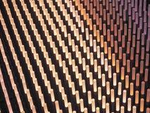 Свет вставляет абстрактное поле Стоковая Фотография