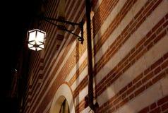 Свет в городке Стоковая Фотография