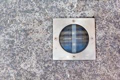 Свет в камне Стоковая Фотография
