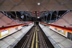 Свет в конце тоннеля Стоковая Фотография