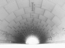 Свет в конце тоннеля стоковая фотография rf