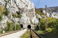 Свет в конце тоннеля Стоковое Изображение