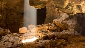 Свет в подземелье Стоковые Фотографии RF