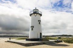 Свет гавани Edgartown, виноградник ` s Марты, Массачусетс Стоковые Изображения