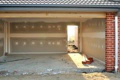 свет гаража стоковая фотография