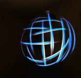 свет глобуса Стоковая Фотография