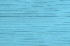 Свет - голубая деревянная текстура предпосылки Стоковая Фотография RF