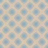 Свет - голубая орнаментальная картина Стоковые Фото