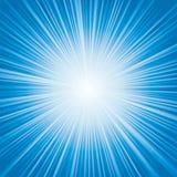 Свет - голубой сигнал цветовой синхронизации Стоковые Фото