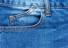 свет голубых джинсов Стоковое Фото