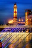 свет города Стоковые Фотографии RF
