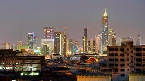 Свет города Бангкока Стоковые Фотографии RF
