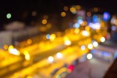 Свет города стоковое изображение rf