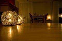 свет горящей свечи Стоковая Фотография RF