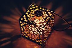 Свет горящей свечи Стоковые Фотографии RF