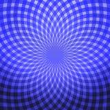 свет - голубая абстрактная спираль Стоковая Фотография RF