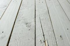 Свет - голубая деревянная текстура предпосылки Стоковая Фотография