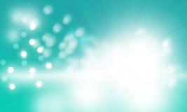 Свет - голубая дизайн неба bokeh предпосылка запачканный Стоковая Фотография