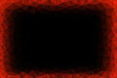 Свет - голубая предпосылка треугольника Turqoish Стоковое Изображение RF