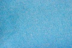 Свет - голубая текстура предпосылки ткани Стоковое Изображение RF