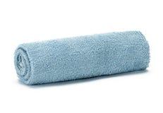 Свет - голубое полотенце Стоковая Фотография RF