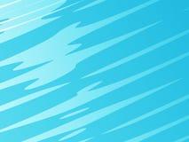 Свет - голубое современное абстрактное искусство фрактали Яркая иллюстрация предпосылки с случайным влиянием ходов Творческий гра Стоковая Фотография