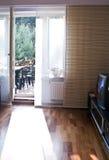 свет двери балкона Стоковые Фотографии RF
