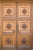 свет двери замока деревянный Стоковое Фото