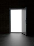 свет двери к Стоковое Изображение