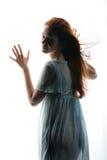 свет девушки Стоковое фото RF