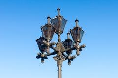 Свет дороги улицы столба светильника Стоковое Изображение