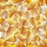 Свет - желтая полигональная предпосылка Стоковое фото RF